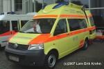 VW Transporter T5 - Ambulanzmobile Schönebeck - KTW