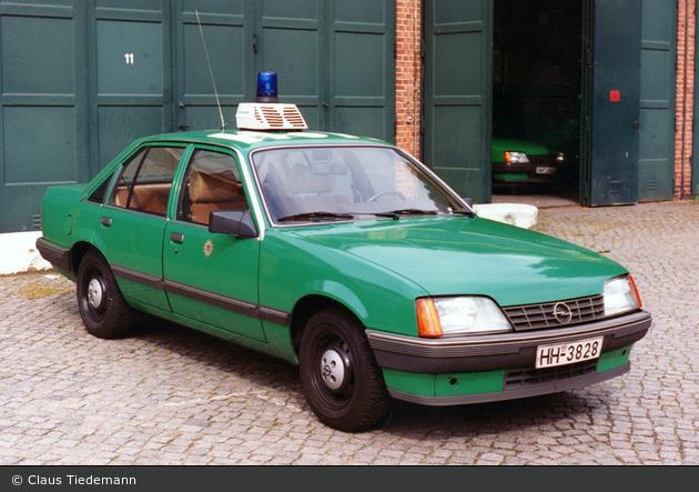 HH-3828 - Opel Rekord - FüKw (a.D.)