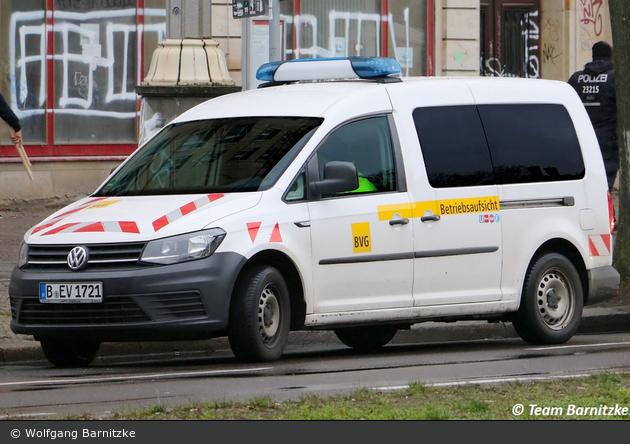 Berlin - Berliner Verkehrsbetriebe - Betriebsaufsicht (B-EV 1721)