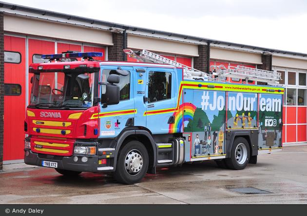 Scunthorpe - Humberside Fire & Rescue Service - WrL