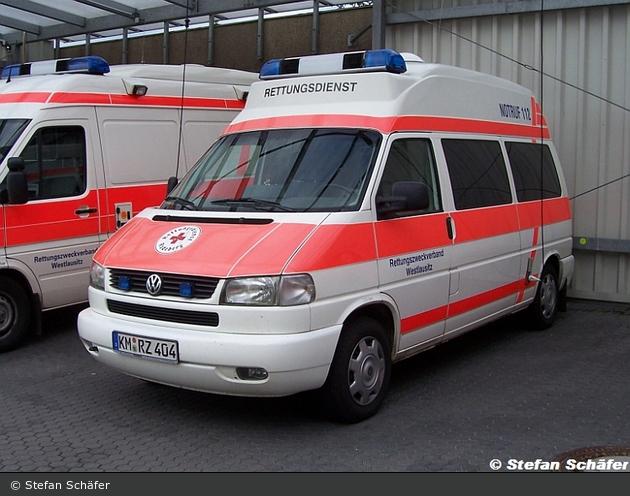 Rotkreuz  Radeberg 85-03 (a.D.)