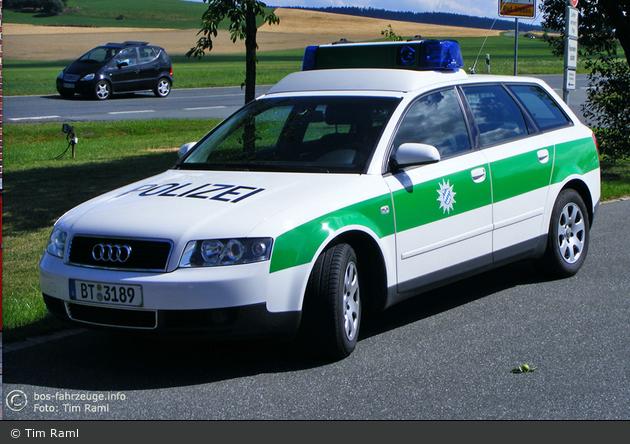 BT-3189 - Audi A4 Avant -FuStW - Bad Steben