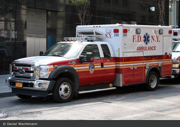 FDNY - EMS - Ambulance 249 - RTW