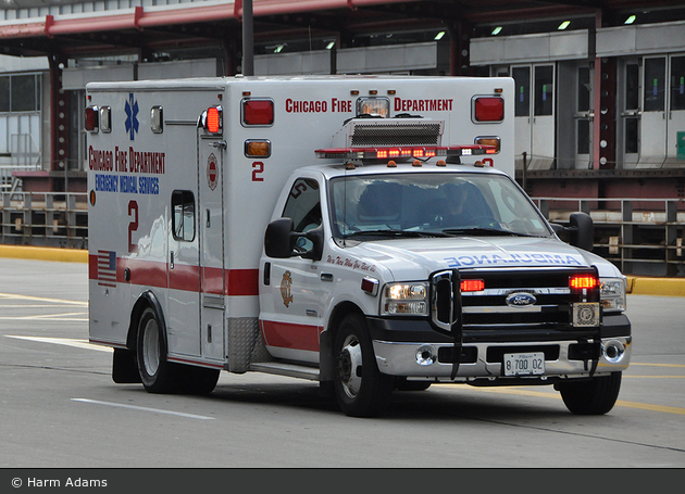 Chicago - CFD - ALS-Ambulance 002
