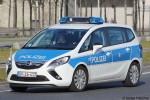 BP16-412 - Opel Zafira Tourer - FuStW