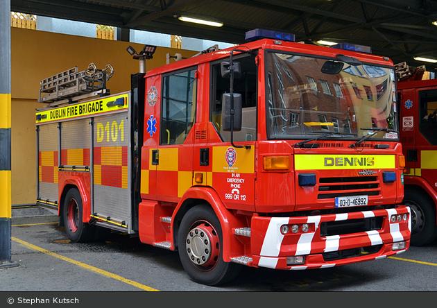 Dublin - City Fire Brigade - WrL - D101