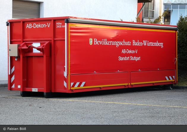 Kater Stuttgart - Abrollbehälter-Dekon-V