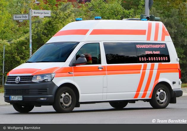 Krankentransport Stahl GmbH - KTW (B-KT 1998)