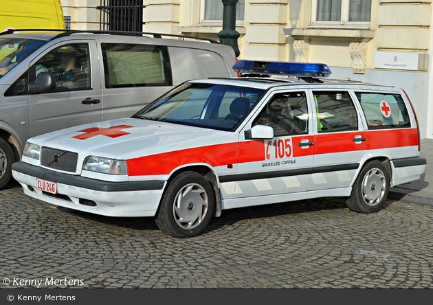 Bruxelles - Croix-Rouge de Belgique - NEF (a.D.)
