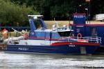 Wien - ÖSWAG Schiffswerft Linz - Polizeiboot