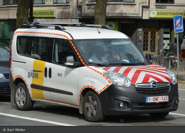 Antwerpen - De Lijn - Verkehrssicherungsfahrzeug - 8023