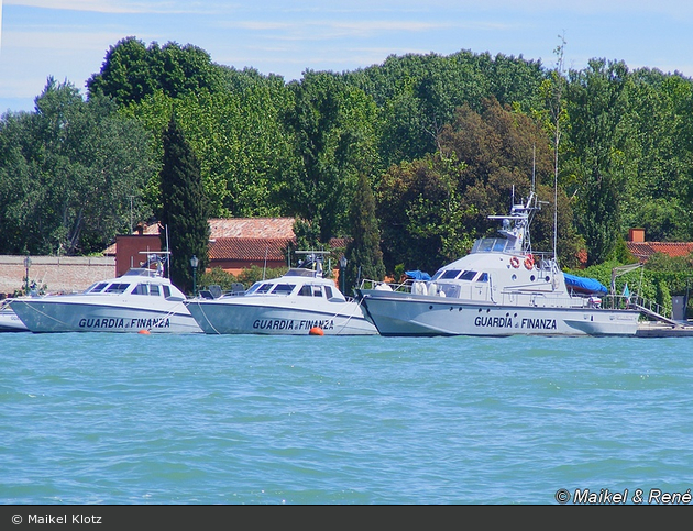 IT - Venezia - Guardia Finanza - Schnellboote