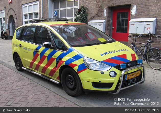 Amsterdam - Ambulance Amsterdam - Rapid Responder - 13-341 (alt)