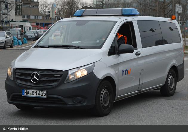 Mannheim - Rhein Neckar Verkehrsbetriebe - Einsatzfahrzeug (MA-RN 405)