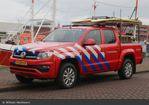 den Haag - Brandweer - GW-W - 15-7109