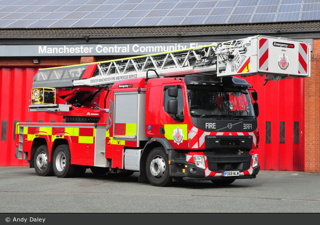 Manchester - Greater Manchester Fire & Rescue Service - TL