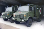 BW - Bundeswehr -Unimog KrKw des SanRgt 10