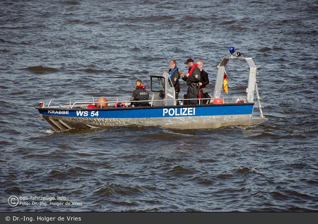 WS54 - Polizei Hamburg - WS 54 - Krabbe