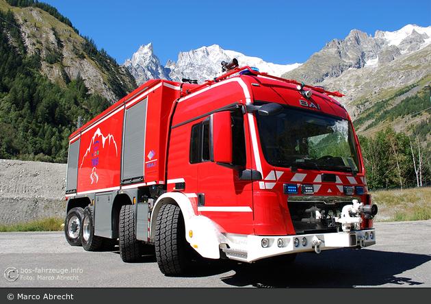 Chamonix - WF GEIE TMB - Tunnellöschfahrzeug