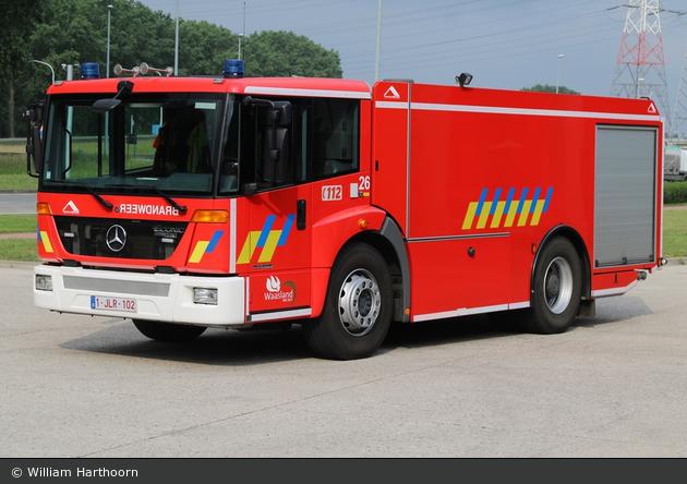 Beveren - Brandweer - GTLF - B26