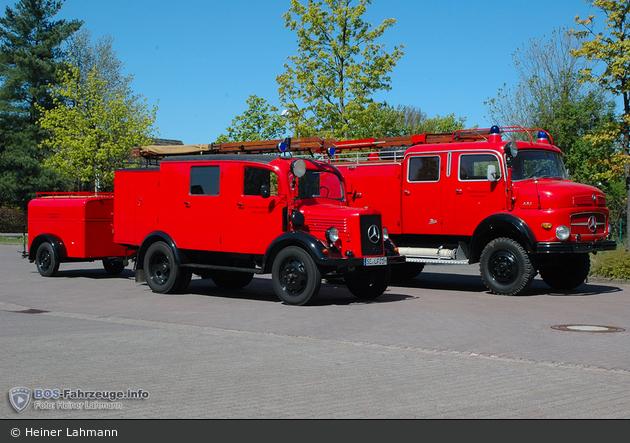SH - FF Friedrichsgabe - LLG und TLF 16 (a.D.)