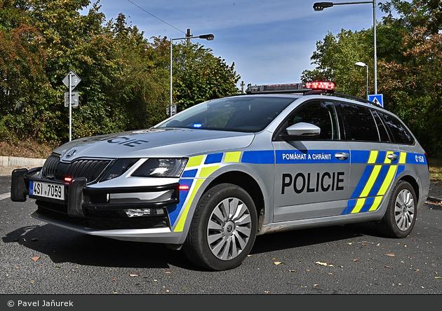 Řevnice - Policie - FuStW - 4SI 7059