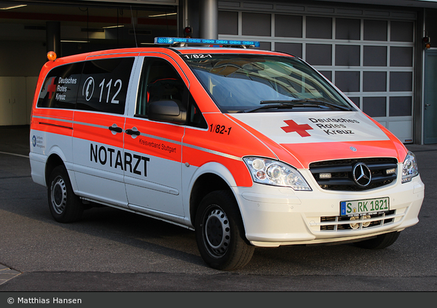 Rotkreuz Stuttgart 01/82-01