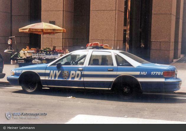 NYPD - Randall's Island - Harbor Unit - FuStW 1778 (a.D.)