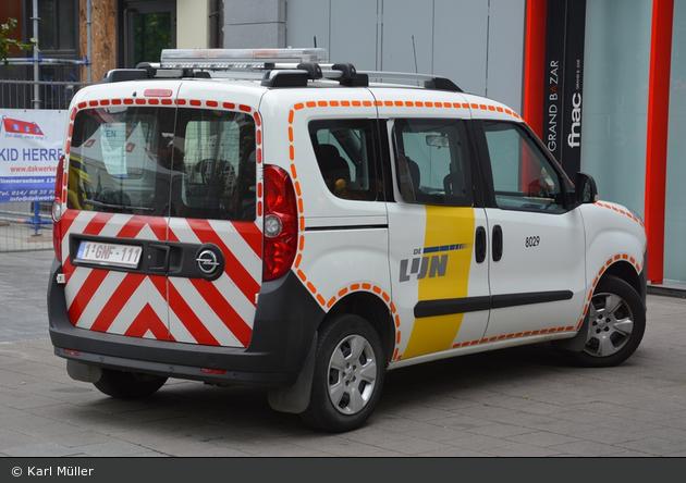 Antwerpen - De Lijn - Verkehrssicherungsfahrzeug - 8029