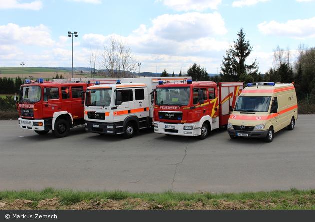 BY - Schauenstein - Feuerwehr und BRK