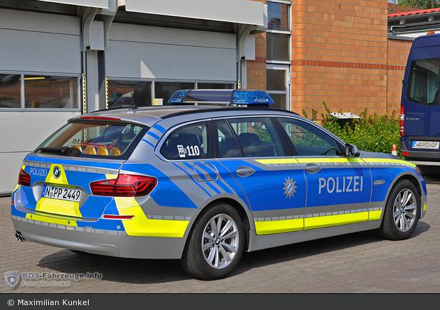 N-PP 2449 - BMW 525d Touring - FuStW