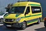 Uddevalla - Västra Götaland Ambulanssjukvård - KTW – 3 54-7610