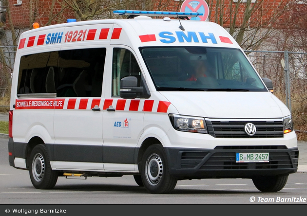 Krankentransport SMH - KTW (B-MB 2457)