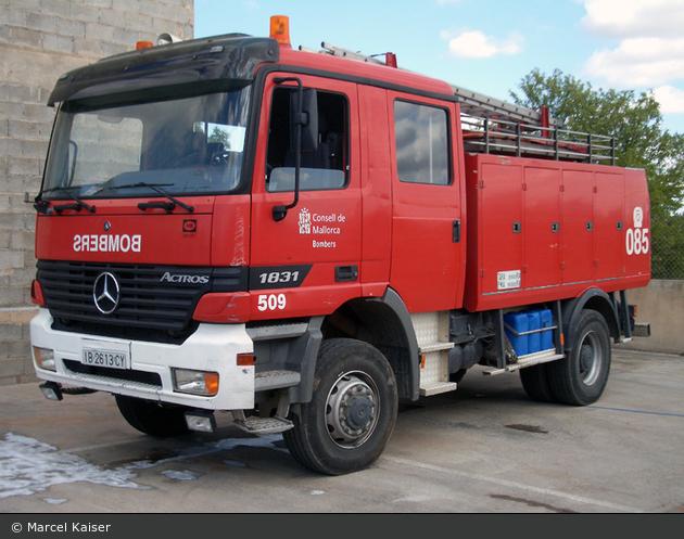 Llucmajor - Bombers - TLF - 509