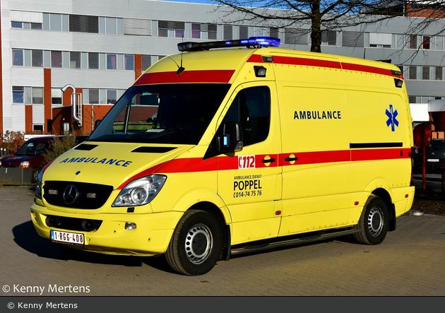 Malle - Ambulancedienst Poppel - RTW - 107002