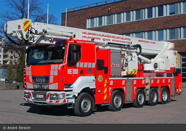 Helsinki - Helsingin Kaupungin Pelastuslaitos - TMF - HE106