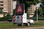 Antwerpen - Lokale Politie - Verkehrsanhänger