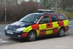 Manchester Airport - Fire Service - Car