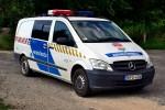 Encs - Rendőrség - Kontrollstellenfahrzeug