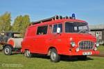 Salzwedel - Oldtimerlöschzug - KLF-TS 8 Barkas B 1000