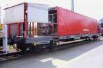Seelze - Deutsche Bahn AG - Rettungszug Löschmittelwagen