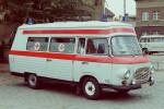 Dresden - Rettungsamt Dresden - SMH3 Wagen 102 (a.D.)