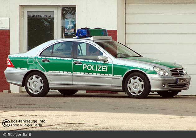 Sassnitz - MB C-Klasse - FuStW WSP (a.D.)